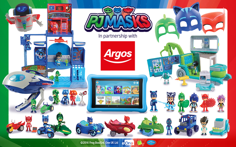 PJ Masks Goodie Bundle