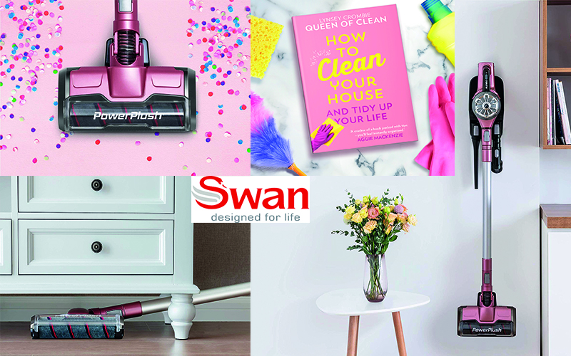 BE YOUR OWN QUEEN OF CLEAN WITH A EUREKA | SWAN POWERPLUSH VACUUM