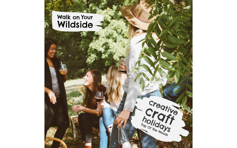 5-day Creative & Craft Glamping Holiday - Landscape Painting (holiday dates 15th - 20th July)