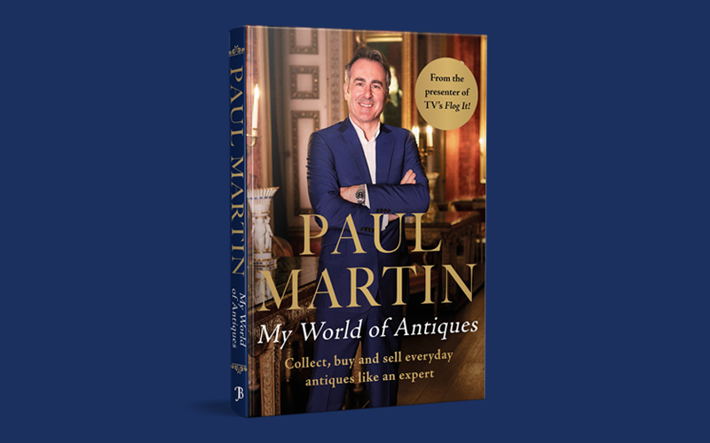 Win a Signed Copy of Paul Martin: My World Of Antiques