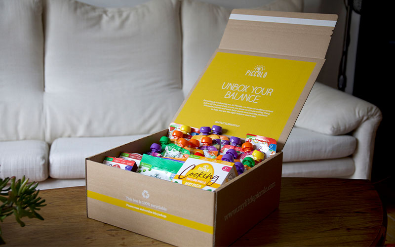 Your first Piccolo subscription box free