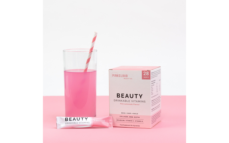 £50 worth of Pink Cloud Beauty Co Drinkable Vitamins