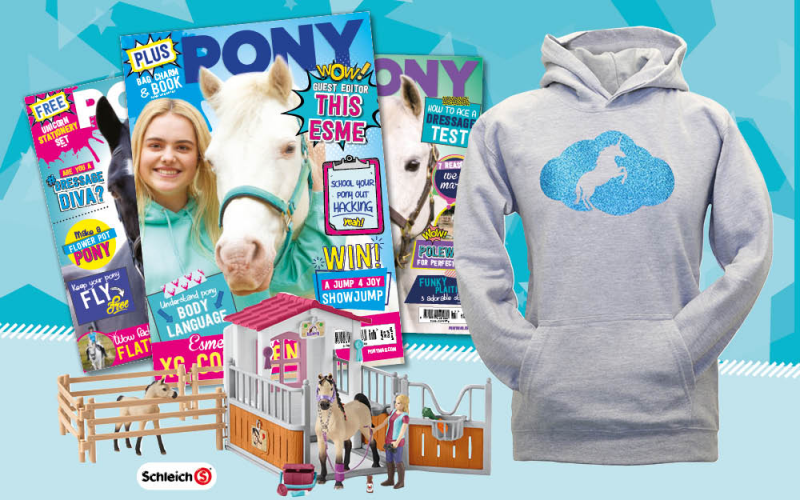 Win a PONY magazine subscription and goodie bundle