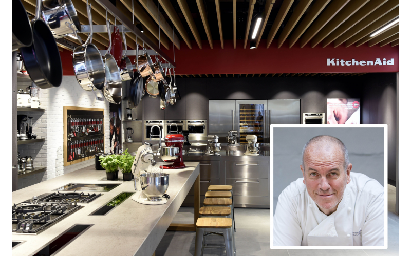 WIN AN EVENING COOKERY CLASS WITH RICHARD BERTINET AT THE KITCHENAID LONDON EXPERIENCE STORE