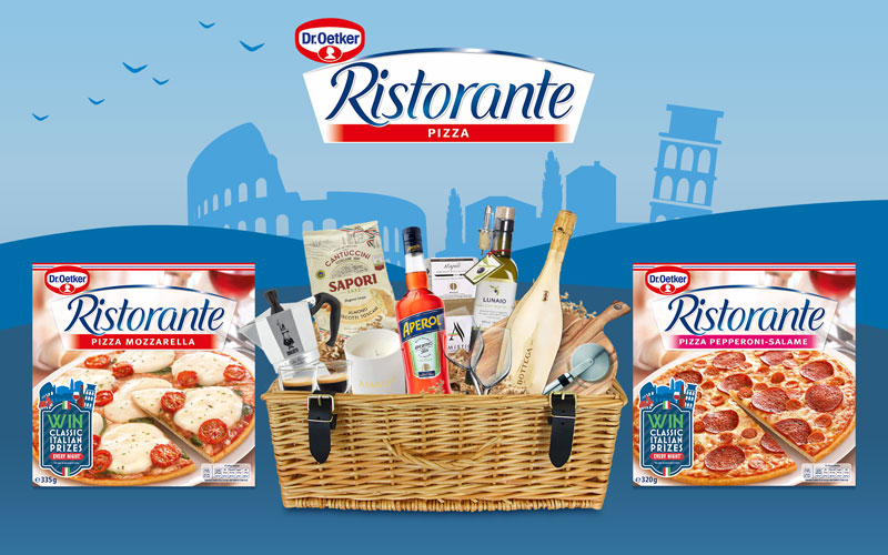 The ultimate Italian hamper and a year's supply of Ristorante vouchers
