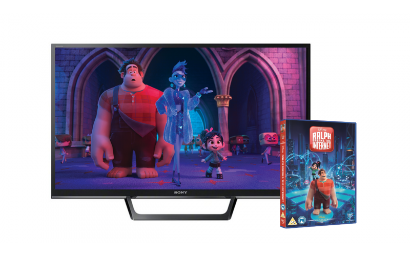 "Win a TV and DVD of Disney's ""Ralph Breaks the Internet"""