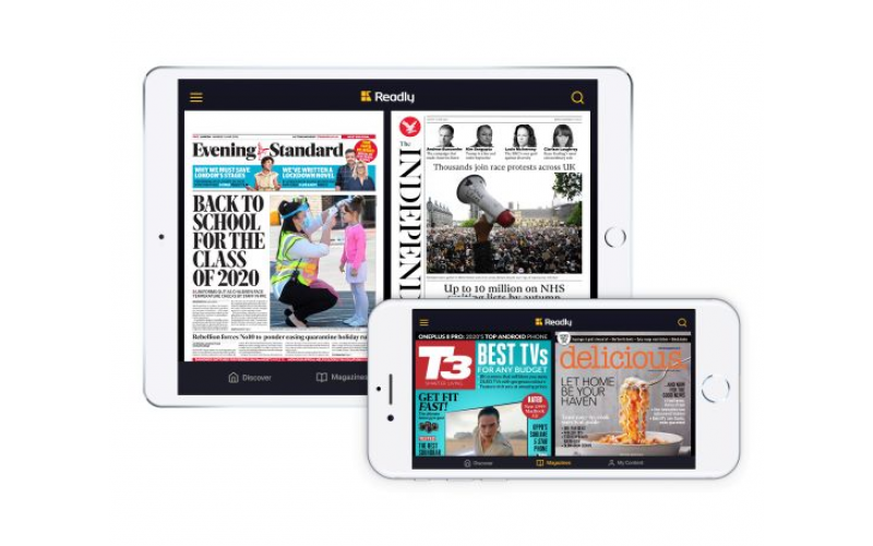 Win a year of unlimited magazine reading with Readly
