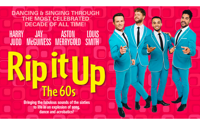 Win tickets to see Rip It Up The 60s at the Garrick Theatre in the West End