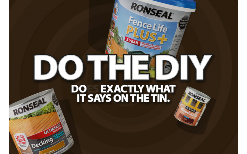 Win a £250 B&Q voucher to stock up on Ronseal products for Winter