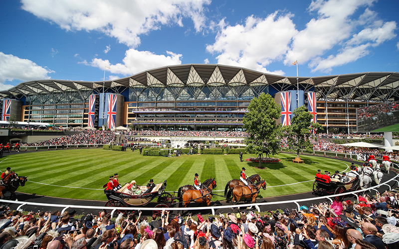 A Royal Ascot experience for 4 people
