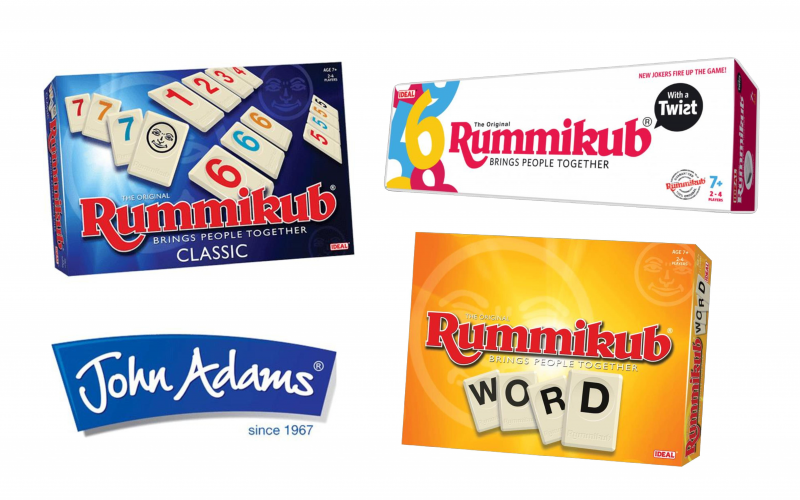 Get ready for Christmas and win a bundle of Rummikub games from John Adams!