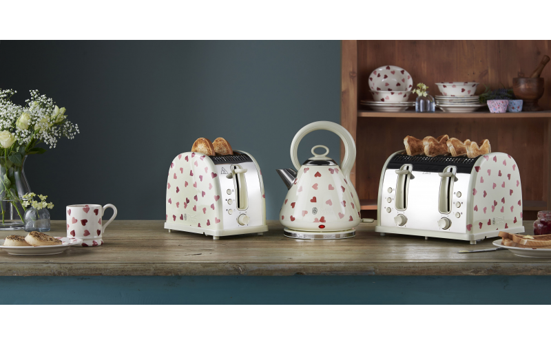 Russell Hobbs and Emma Bridgewater Pink Hearts Collection