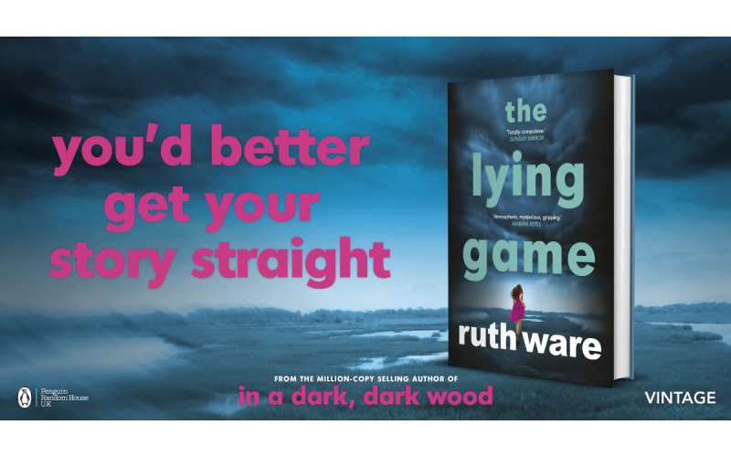 One  murder mystery evening for two and  two hardback copies of The Lying Game