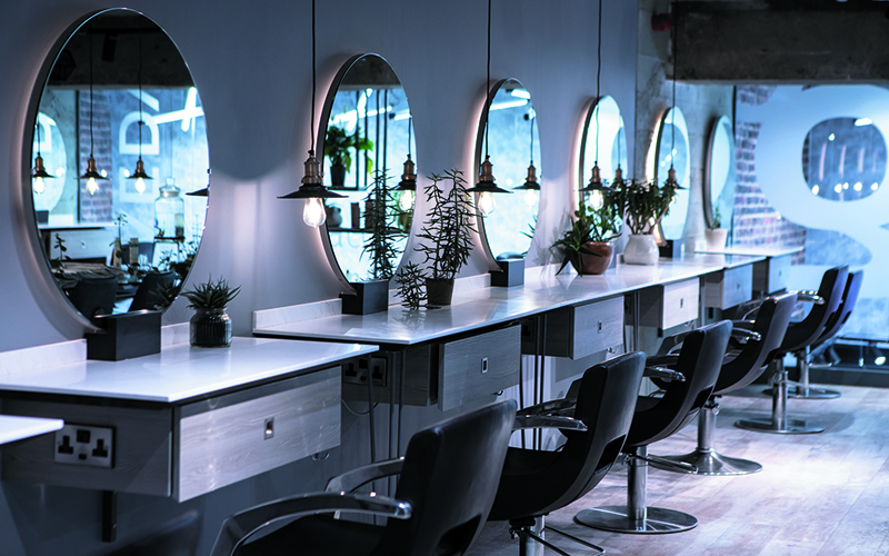LUXURY GINA CONWAY AVEDA LONDON SALON EXPERIENCE