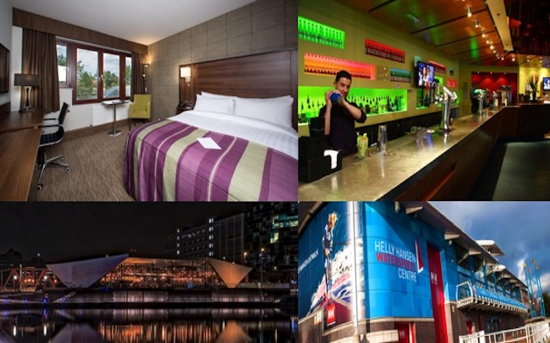 We are giving two lucky readers the chance to win the ultimate staycation at Salford Quays, home of MediaCityUK!