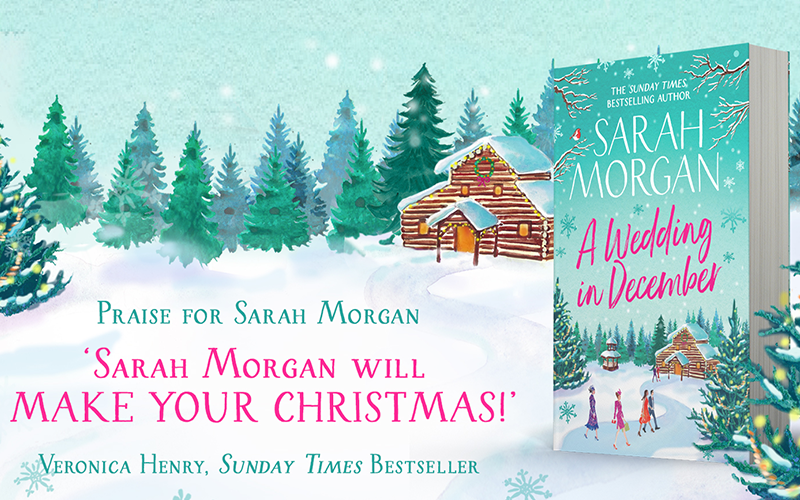 Sarah Morgan's A Wedding in December and a Fortnum and Mason's Christmas Hamper