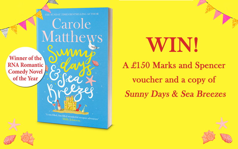 A £150 Marks and Spencer voucher and a copy of Sunny Days & Sea Breezes