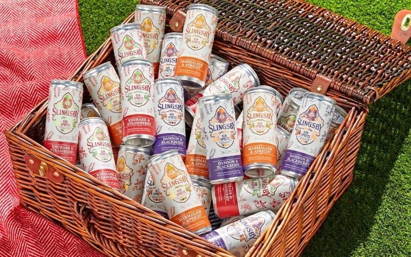 A Summer's Supply of Slingsby Gin Spritz Cans!