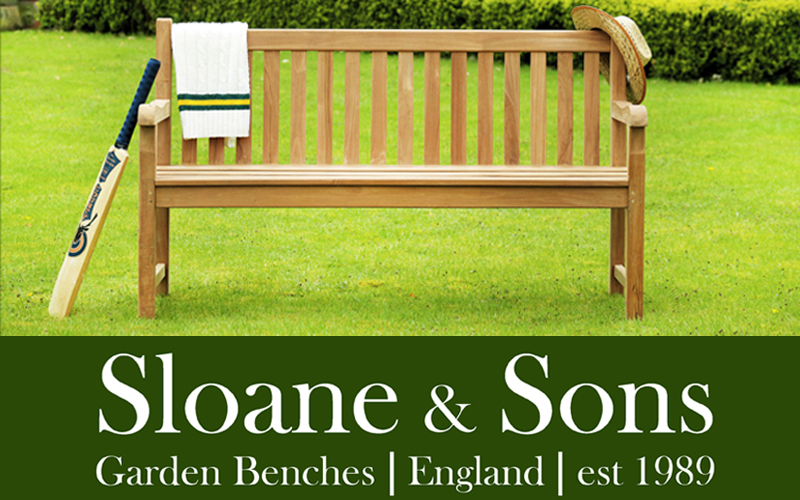 £500 to spend at Sloane & Sons Garden Benches