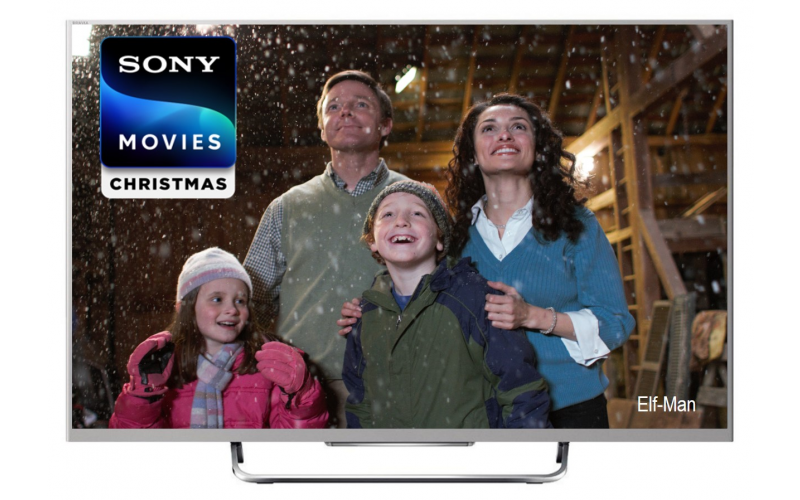 Win a 49in TV with SONY MOVIES CHRISTMAS!
