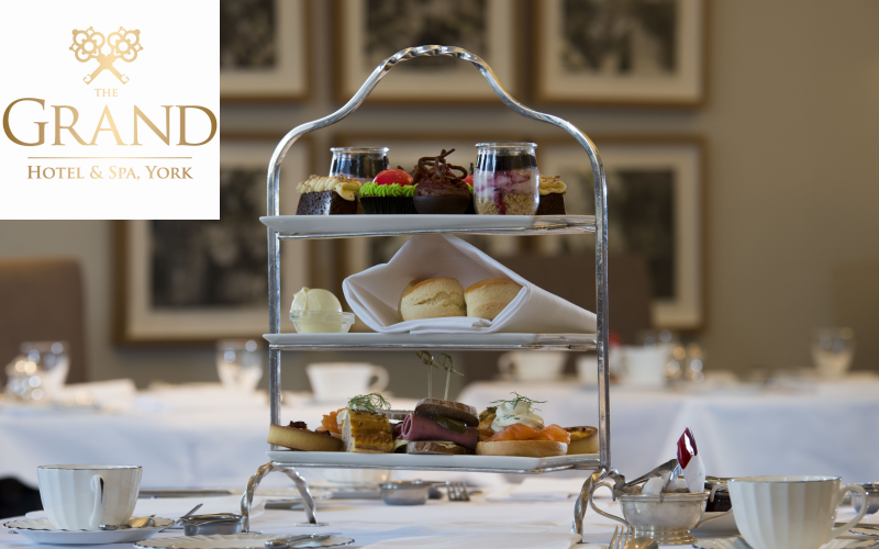 A night at The Grand Hotel & Spa plus Afternoon Tea for Two