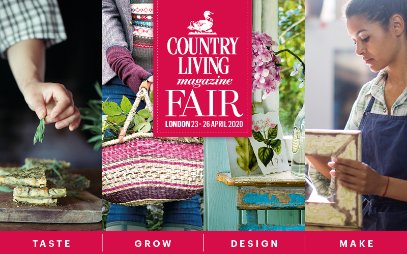 WIN! A PAIR OF TICKETS TO THE COUNTRY LIVING SPRING FAIR 2020