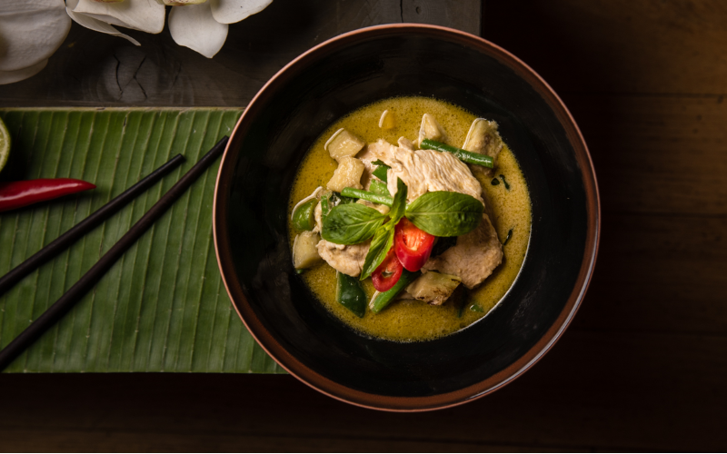 luxurious lunch or dinner for two at Thai Square