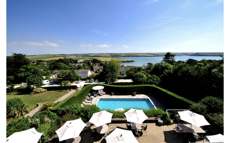 A night's stay at boutique Cornwall Hotel, The St Enodoc