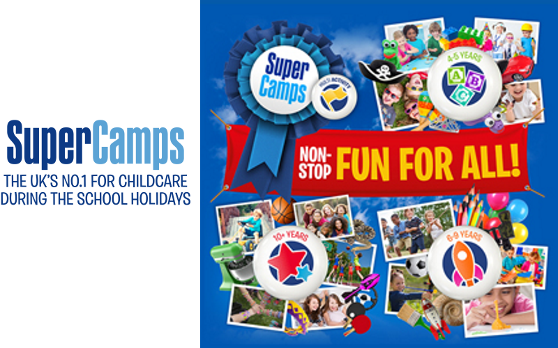 A Free Week on a Super Camps Multi Activity course