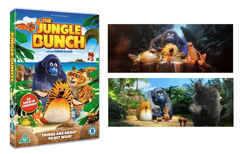 WIN THE JUNGLE BUNCH MERCHANDISE