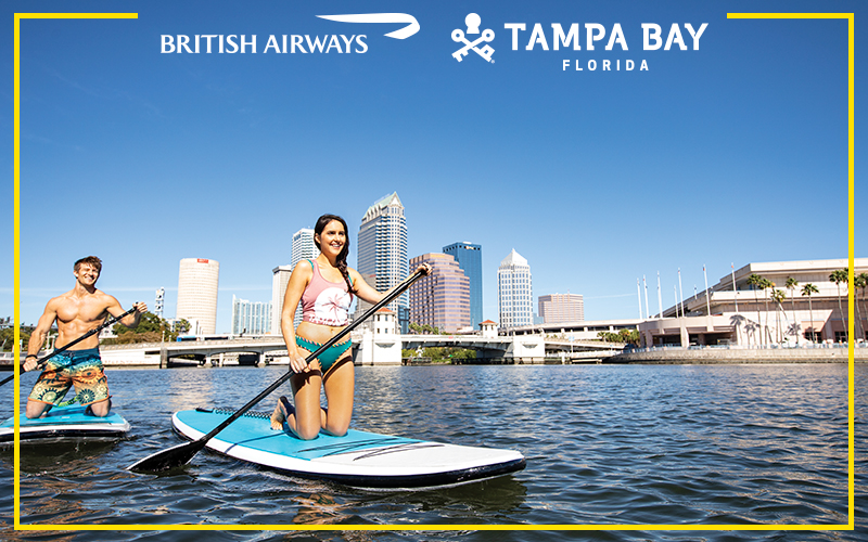 A holiday for two to Tampa Bay