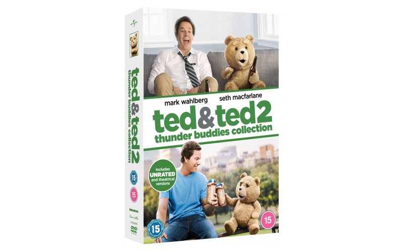 Blu-ray box set of Ted 1 and 2