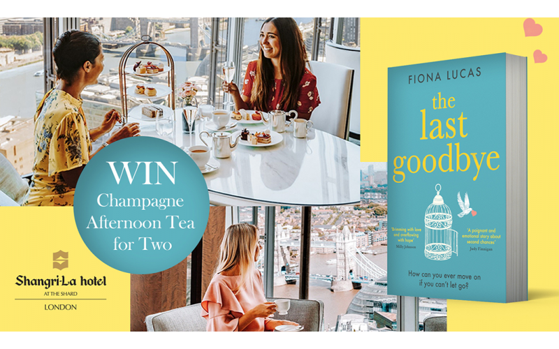 Luxurious Afternoon Tea experience for two and a copy of The Last Goodbye