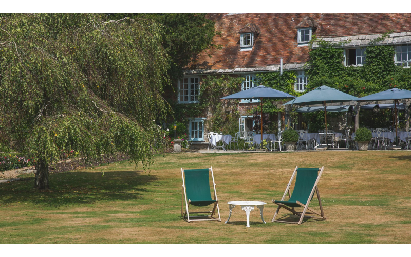 A stay at Pride of Britain Hotels member The Priory