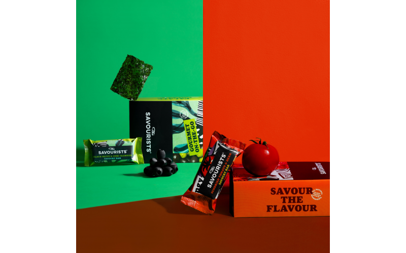 Win a Month's Supply of Savoury Snacks Bars from The Savourists