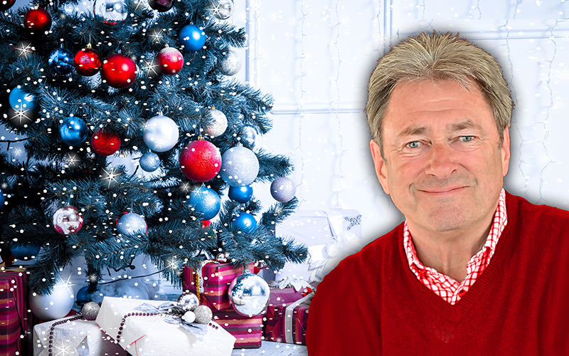 Win tickets to see Christmas with Alan Titchmarsh at the Royal Festival Hall