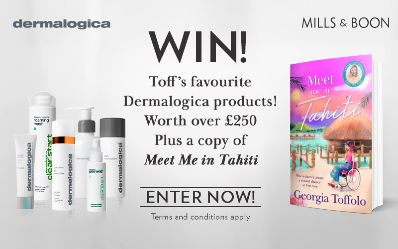 A bundle of Dermalogica products worth £250 and Mills & Boon romance books worth £100