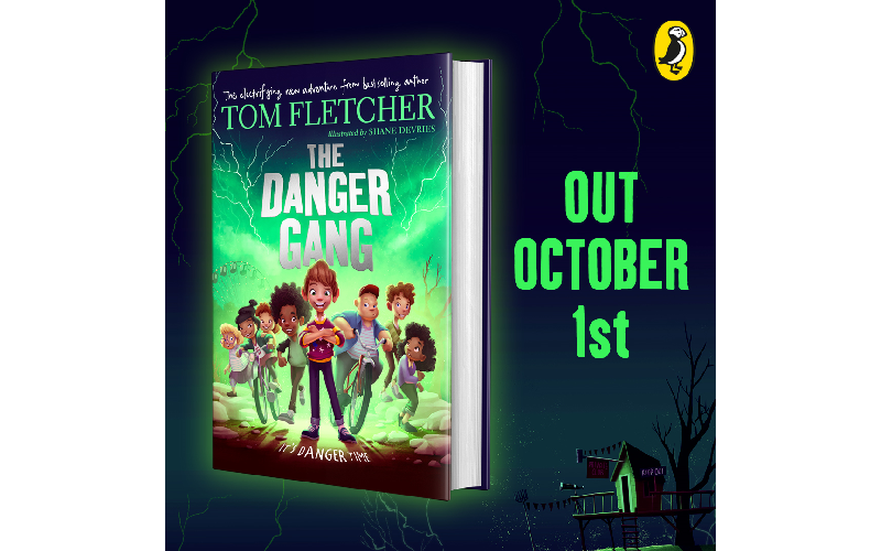 A copy of The Danger Gang by Tom Fletcher and an activity pack!