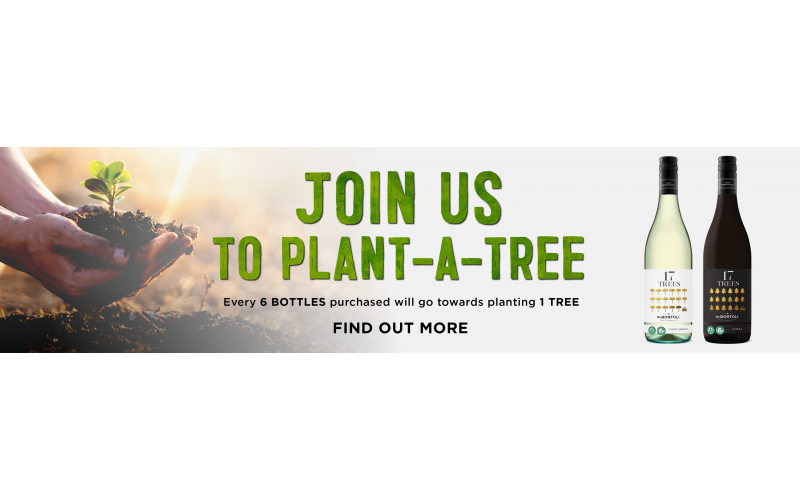 Win 2 cases of delicious 17 Trees wine!