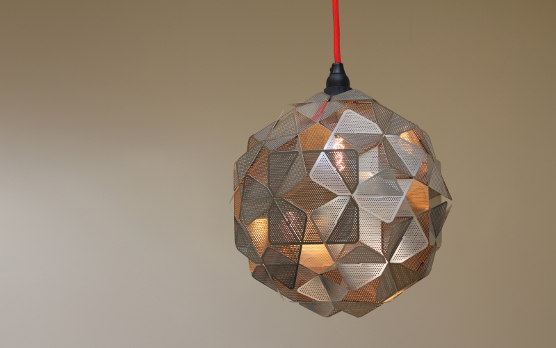 Allium Mini pendant lamp by Tristian Thornhill