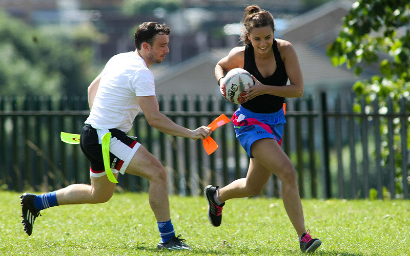 Win 5 individual entries into a team for a Try Tag Rugby Autumn league