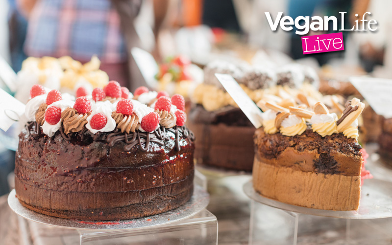 A pair of weekend tickets to Vegan Life Live London