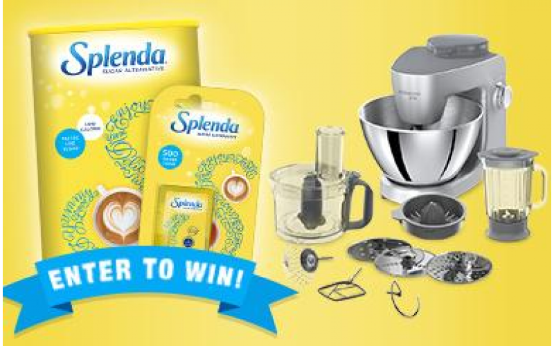 A TOP-QUALITY  FOOD MIXER WITH Splenda