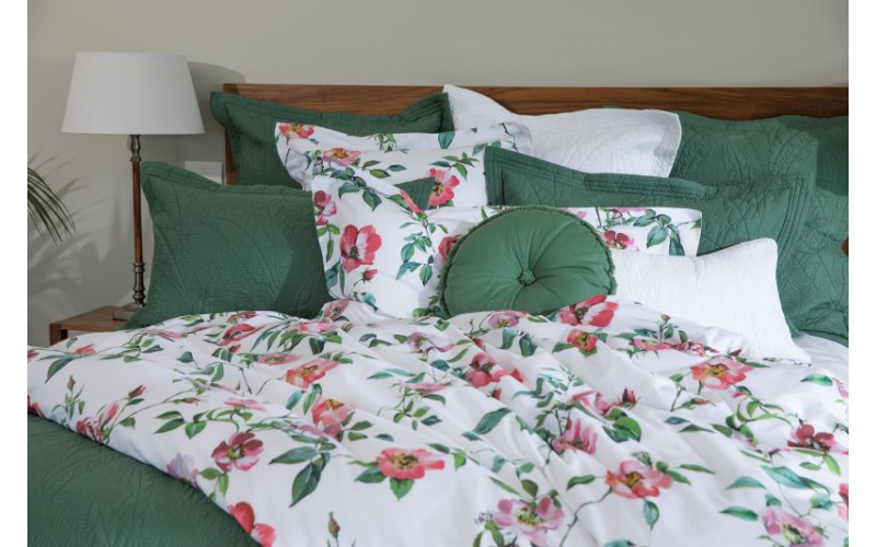 Rose Anna duvet cover set from Wallace Cotton