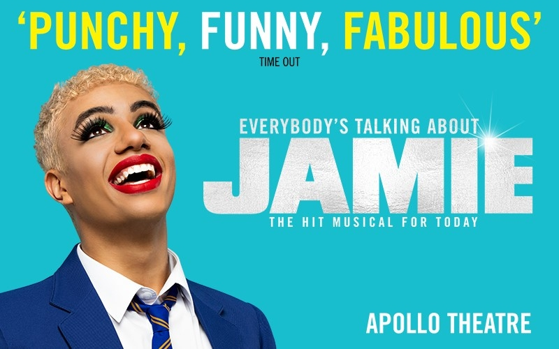A pair of tickets to see Everybody's Talking About Jamie in the West End