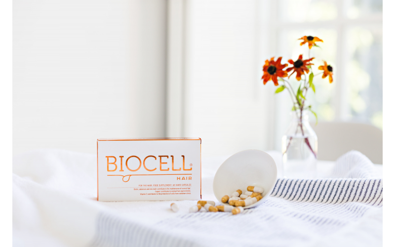 A Year's Supply of Biocell Hair Capsules