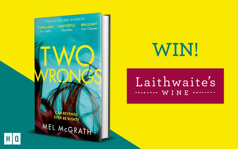 Win one of two Laithwaite's Wine gift cases and a copy of Two Wrongs