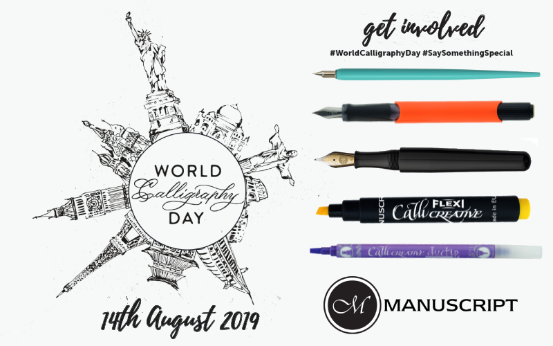 A £50 World Calligraphy Day Bundle