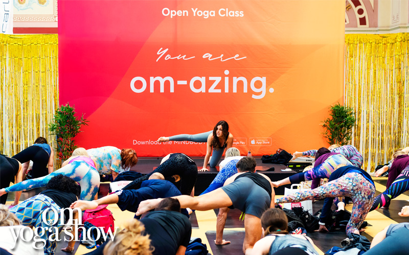 A pair of weekend passes for the OM Yoga Show London
