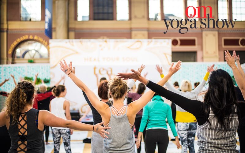 Win a pair of weekend passes for the OM Yoga Show London
